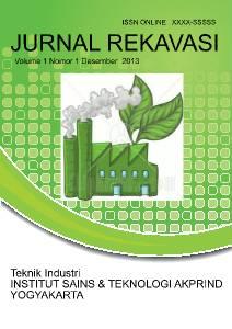Jurnal Rekavasi teknik industri