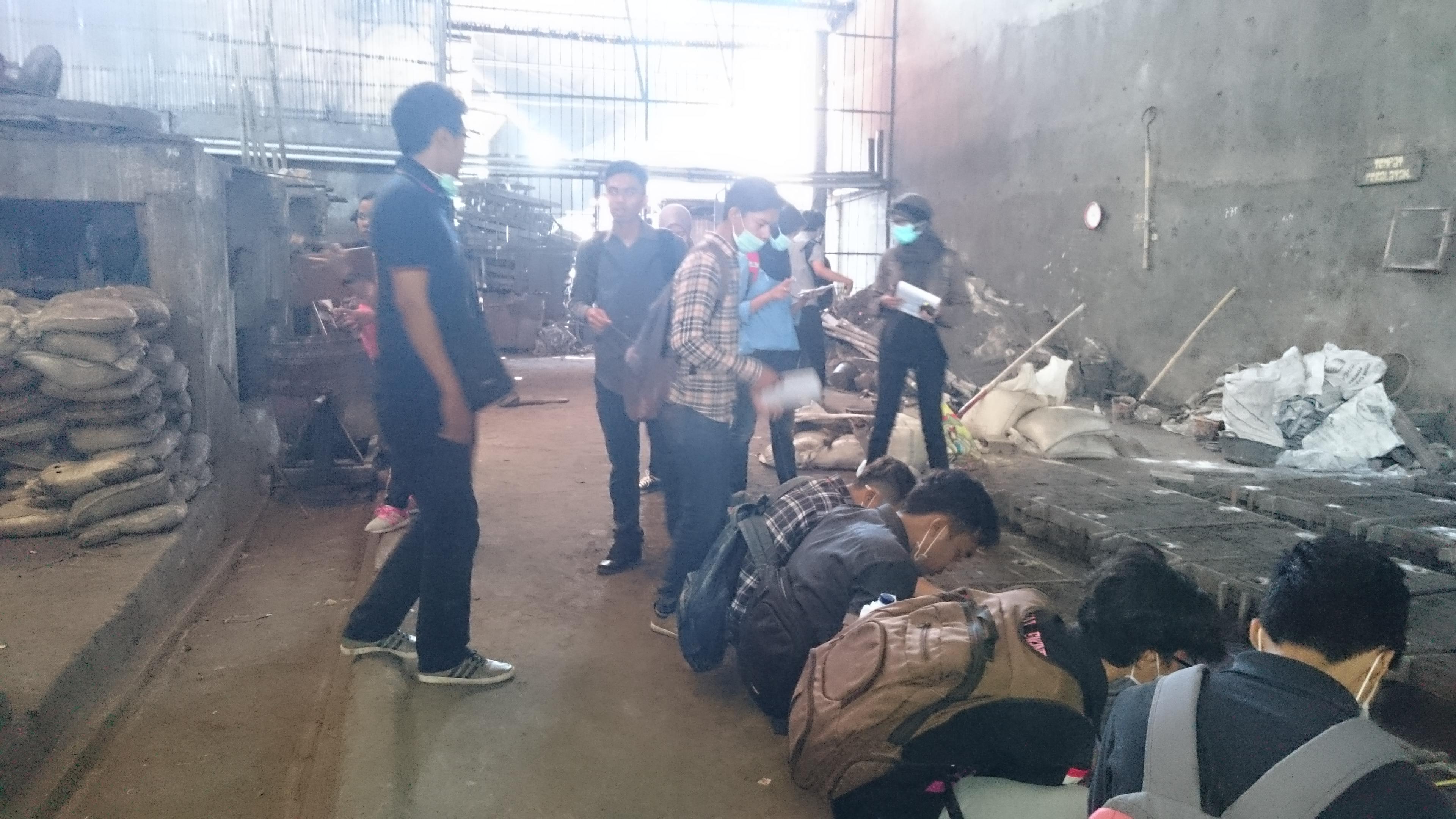 Kunjungan Industri ke Industri Pengecoran Logam di Klaten