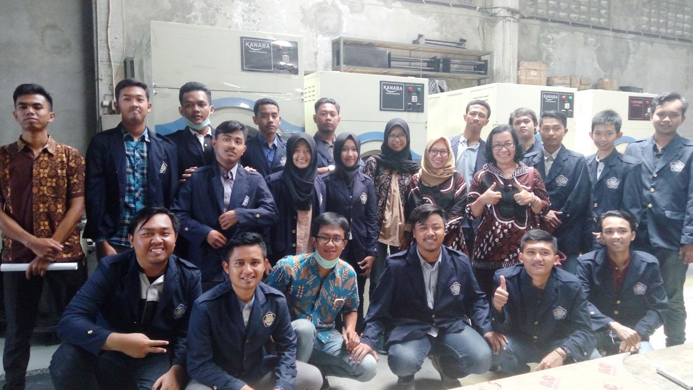 Praktikum Perancangan Tata Letak Fasilitas Mengadakan Kunjungan Pabrik ke PT Hari Mukti Teknik