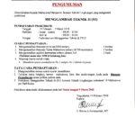 Pendaftaran Praktikum Menggambar Teknik II Teknik Lingkungan di Laboratorium Jurusan Teknik Industri IST AKPRIND Yogyakarta