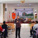 Pembicara Kesehatan Keselamatan Kerja Bapak pembicara Ir. Faizal Safa M.Sc,.IPM  (6/4/2018)