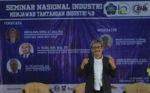 Drs. Tri Saktiyana, M.Si (Kepala Dinas Perindustrian dan Perdagangan DIY) sebagai narasumber