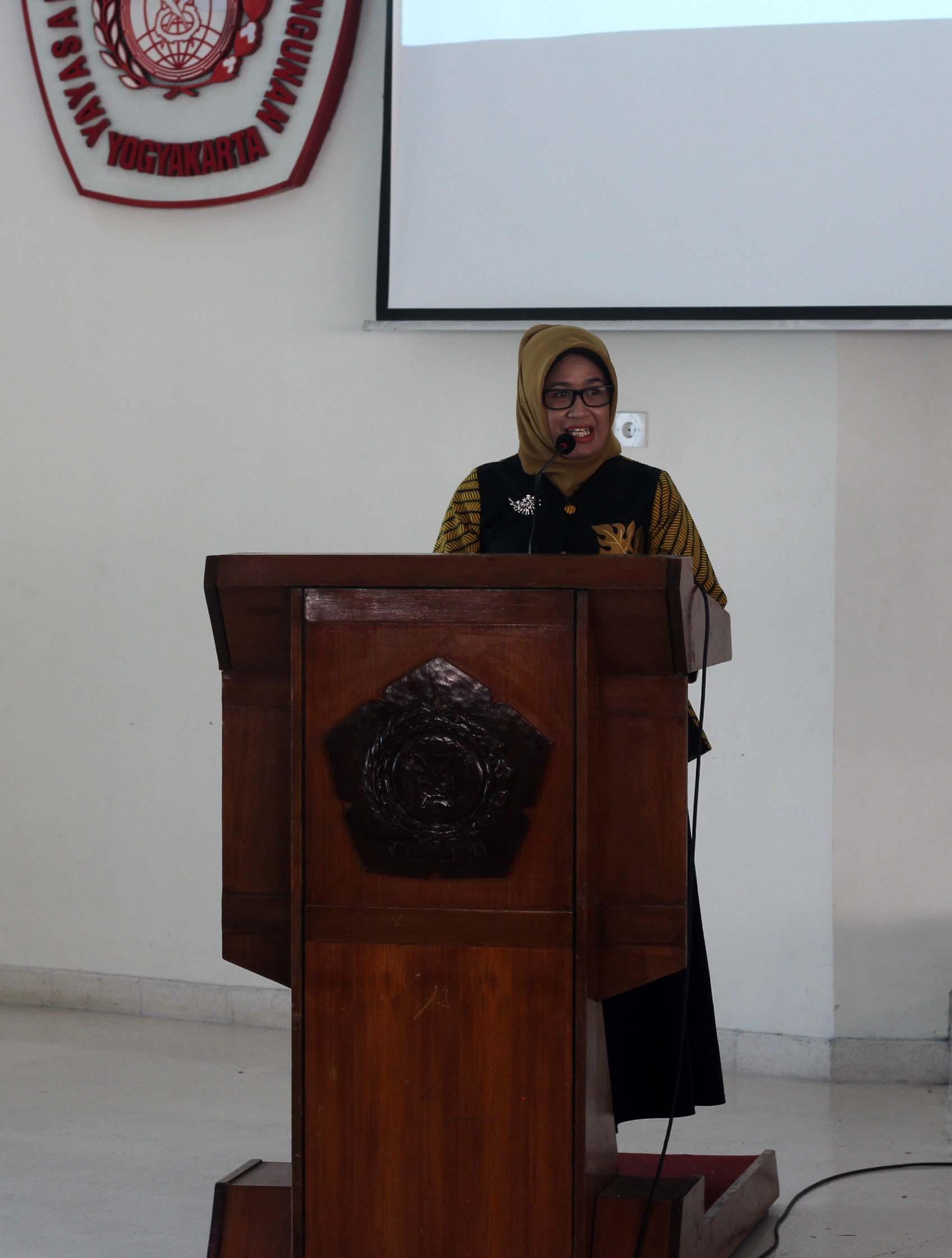 Sambutan Ketua Jurusan Teknik Industri Endang Widuri Asih, ST., MT.
