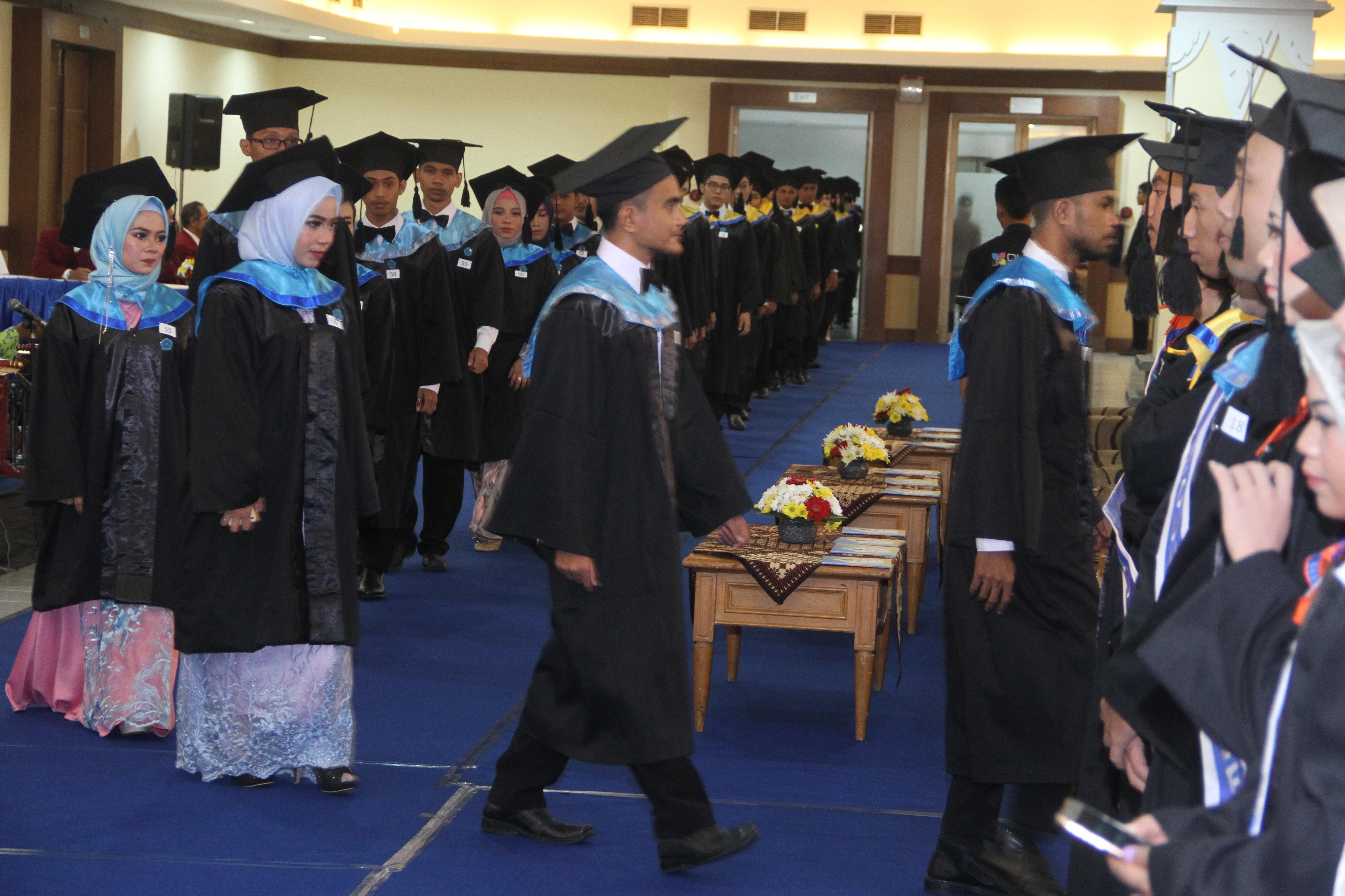 Wisudawan IST AKPRIND Periode III TA 2018-2019