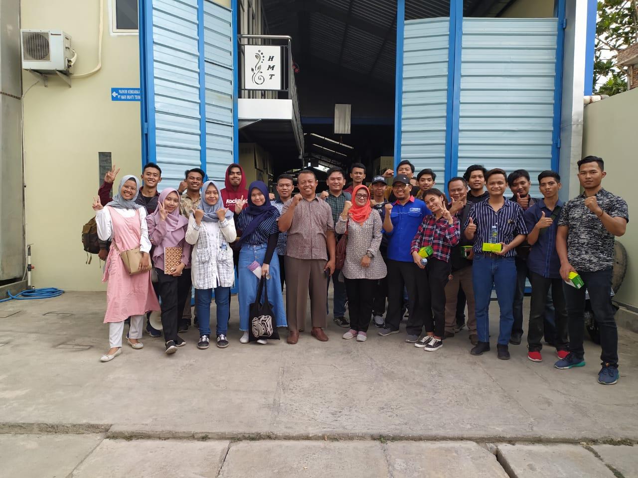 Kunjungan Mata Kuliah Sistem Produksi ke KANABA, Produsen Mesin Laundry