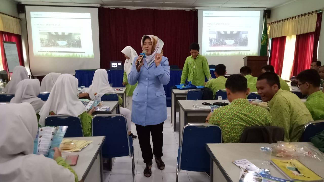 Perkenalkan IST AKPRIND Yogyakarta, Siswa/I MAN 3 Sleman Antusias