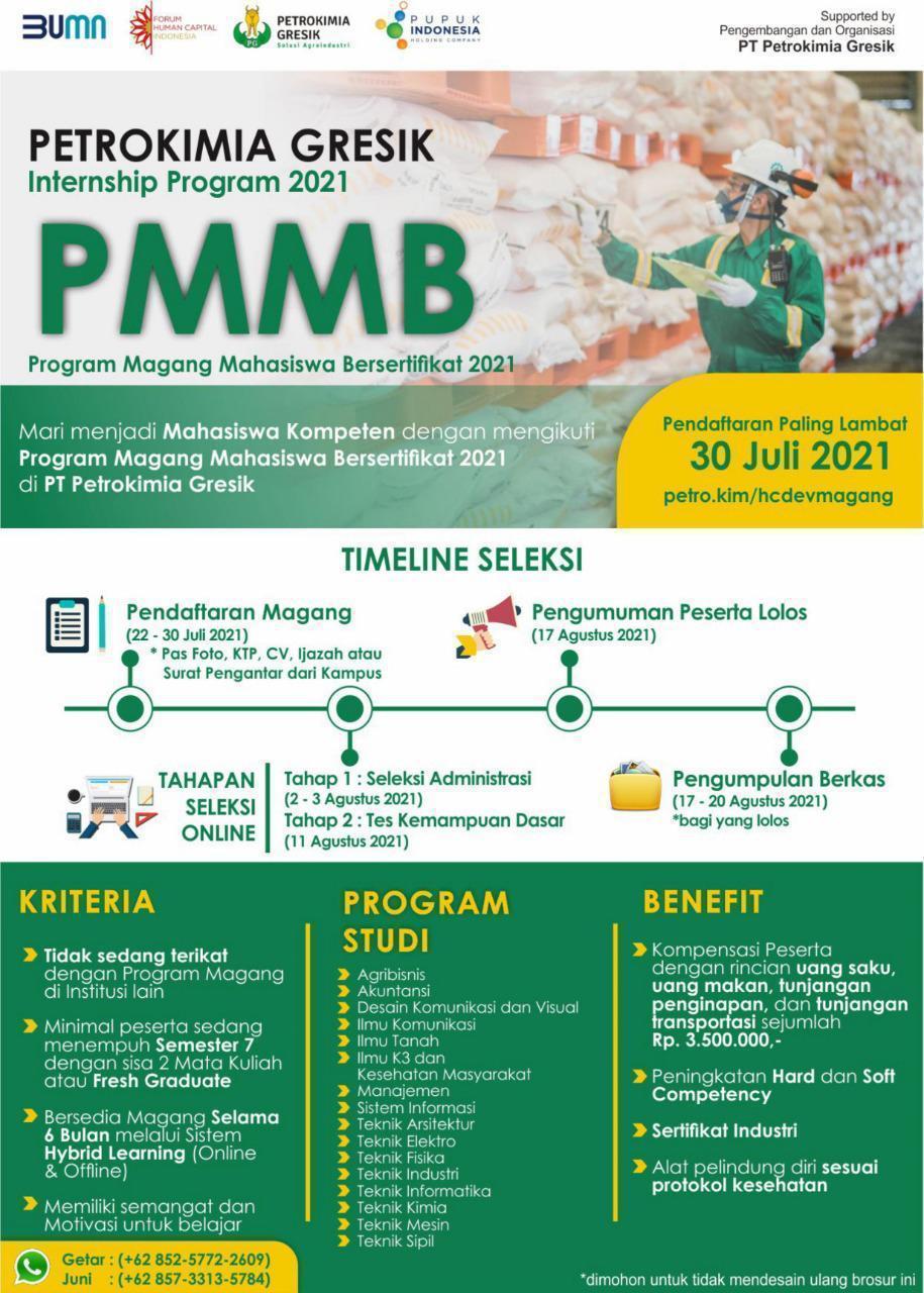 Program Magang Mahasiswa Bersertifikat 2021