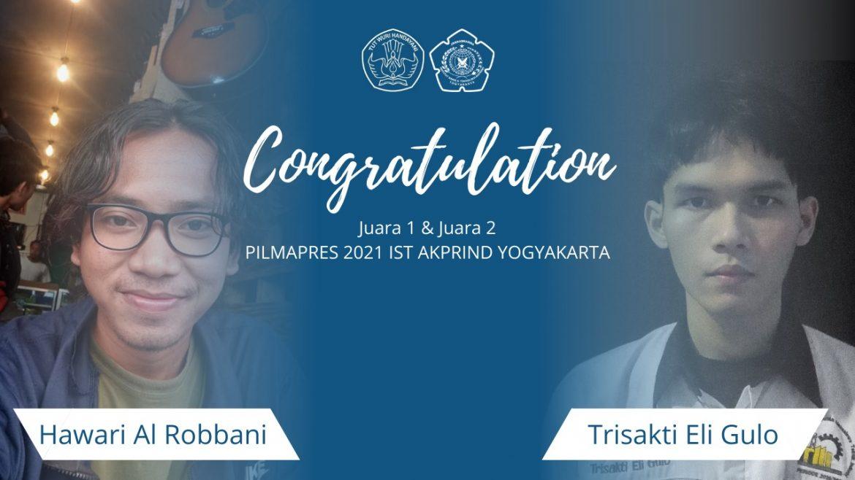 2 Mahasiswa Teknik Industri Terpilih Menjadi Mahasiswa Berprestasi IST AKPRIND Yogyakarta 2021