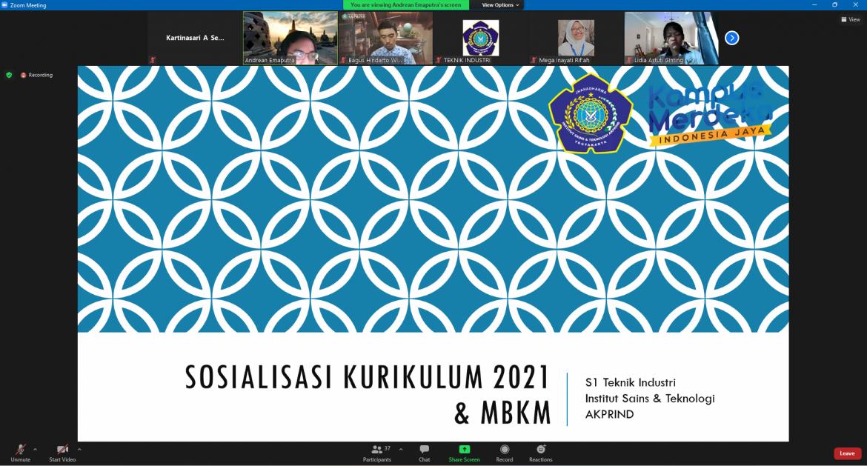 Sosialisasi Kurikulum Program MBKM 2021